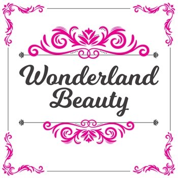 The official Wonderland Beauty logo.