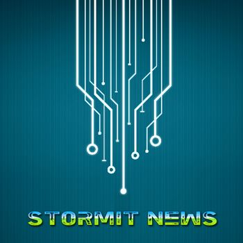 The official StormIT News logo.