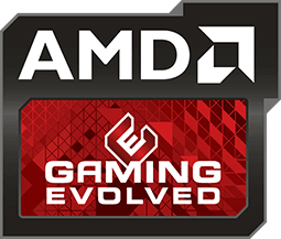 The official AMD Gaming logo.