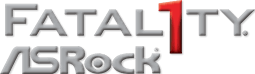 The official Fatal1ty ASRock logo.