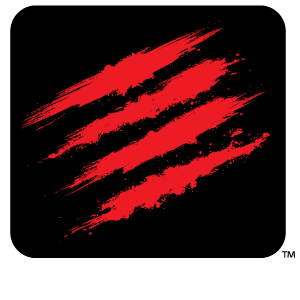 The official Mad Catz logo.
